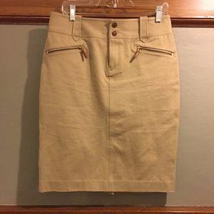 Lauren Ralph Lauren Khaki Pencil Skirt